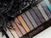 Paleta Essential Night Makeup Revolution: Opinión Swatches