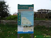 Ruta de los Misterios del Mar: Cartel Informativo