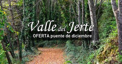 OFERTA: puente de diciembre en el Valle del Jerte