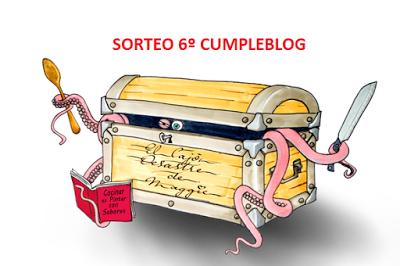 SORTEO SEXTO CUMPLEBLOG