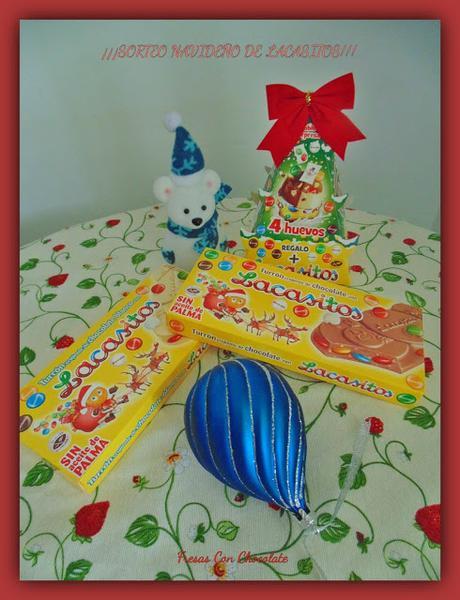 Tarta Lacasitos de cumpleaños y... sorteo!!!!