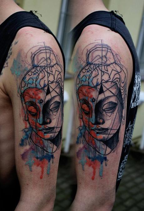 40 ideas de tatuajes de Buda parte 1