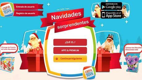 Navidades Sorprendentes estrena nueva aplicación