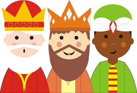 Resultado de imagen de reyes magos
