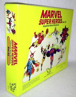 Las figuras de Marvel de TSR Inc