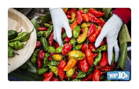 Ghost Pepper-entre-las-pimientas-mas-picantes-del-mundo