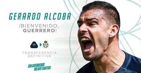 Santos confirma la llegada de Gerardo Alcoba