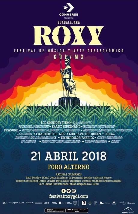 Roxy Fest Line Up 2018