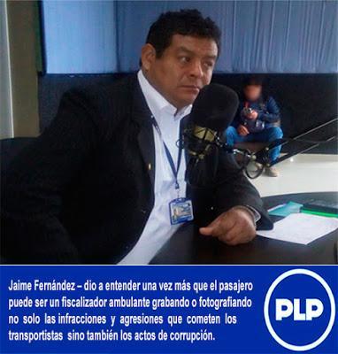 CUESTIONADO CONSORCIO DE TRANSPORTE NO ESTÁ EXCEPTUADO  DE SER INTERVENIDO Y SANCIONADO…