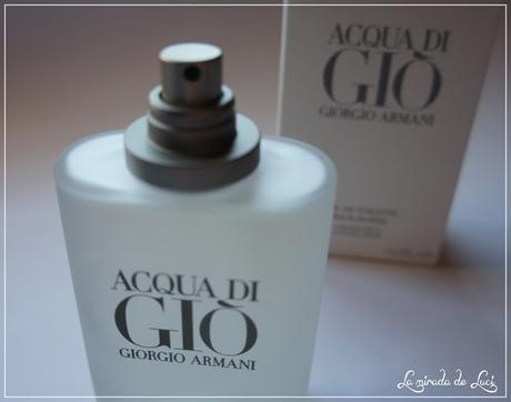 NOVIEMBRE HUELE A... Giorgio Armani, Acqua di Gio