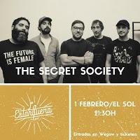 Concierto de The Secret Society en Sala el Sol