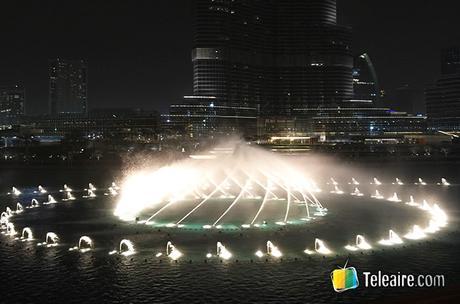 Dubái es inolvidable, el Burj Dubái increíble