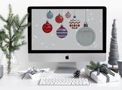 Fondo pantalla calendario diciembre 2017