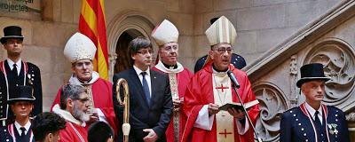 La Iglesia española, dividida ante el desafío independentista.