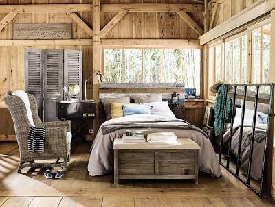 Dormitorios Rusticos con Madera