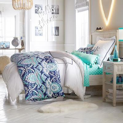 Dormitorios Rusticos en Azules y Blancos