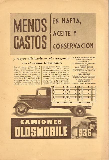 El camión de Oldsmobile