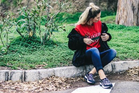 RED TEE & SALSA JEANS