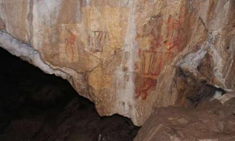 Descubren en una cueva de los Urales una pintura de un camello de más de 14.500 años