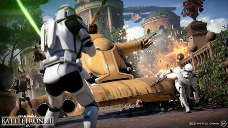Detalles de la actualización 1.03 de Star Wars battlefront 2