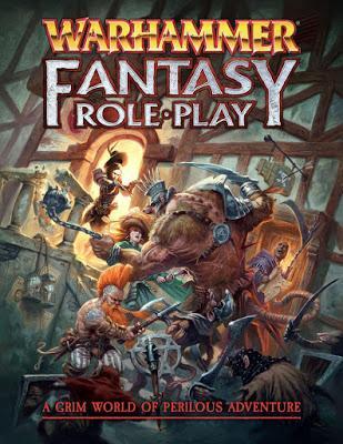 Portadas de WFRPG 4ª: Core book y Starter Set
