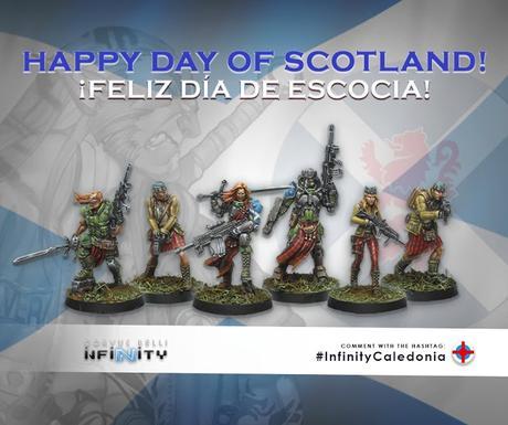 Sorteo día de Escocia y Maximus hoplita pintado