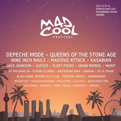 Mad Cool Festival 2018: Kasabian, Snow Patrol, Japandroids, Perfume Genius, Rag 'n' Bone Man, Morgan...