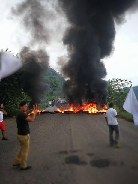 Oposición toma calles Honduras contra