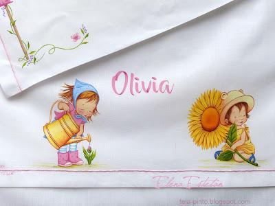 Sábanas para Olivia