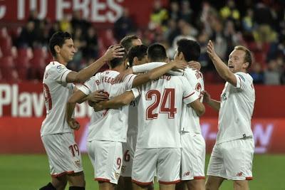 Crónica Sevilla FC 4 - FC Cartagena 0