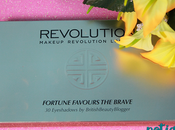 Paleta Fortune Favours Brave Makeup Revolution