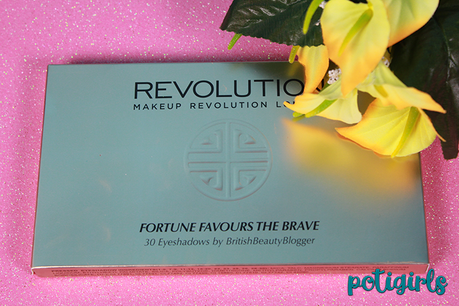 Paleta Fortune Favours the Brave de Makeup Revolution