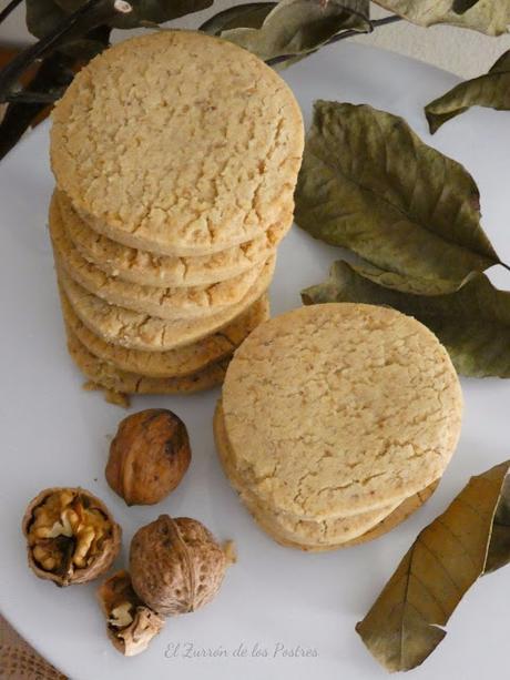 Mantecados de Nueces con Aceite a la Vainilla