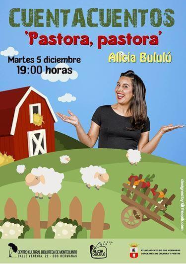 Cuentacuentos en familia: 'Pastora, pastora' con Alicia Bululú