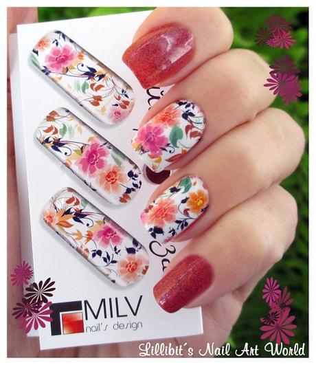 Flores MilVart N220 con anillo a juego