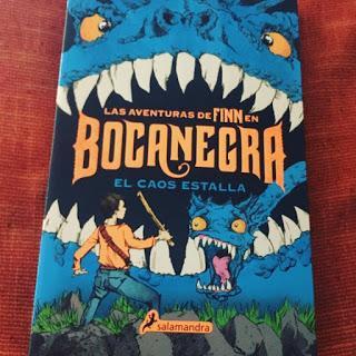 Boolino, salamandra, Finn, Las aventuras de Finn en Bocanegra, El caos estalla, que estas leyendo,