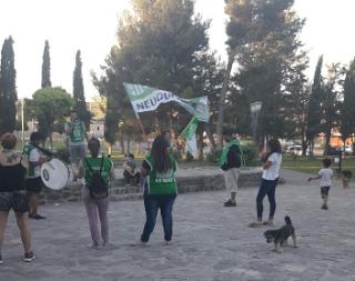 Ate se manifestó en Piedra del Aguila  por la represión ocurrida en Neuquén