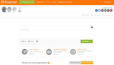 Postcron - El Blog de MAM: 14 herramientas para automatizar tus publicaciones en medios sociales