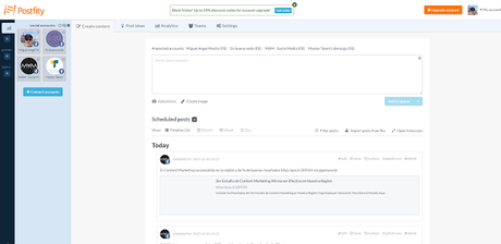 Postfity - El Blog de MAM: 14 herramientas para automatizar tus publicaciones en medios sociales