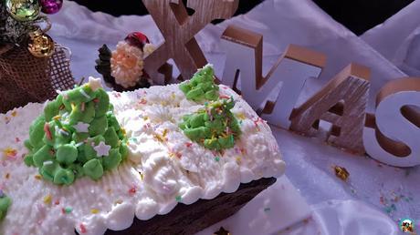 Plum cake de navidad