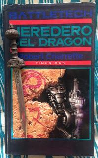 Portada del libro Heredero del dragón, de Robert Churrete