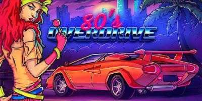 Nuevo tráiler y fecha de publicación de '80's Overdrive', el esperado juego de carreras a lo 'Out Run' para 3DS