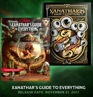 Xanathar's Guide to Everything, bestseller del Wall Street Journal