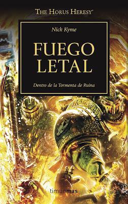 Vulkan vuelve en español tras Reyes: Fuego Letal (HH nº32)