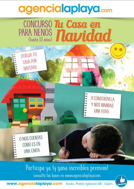 CONCURSO INFANTIL : LA CASA DE TUS SUEÑOS EN NAVIDAD