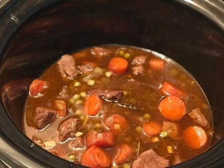 Estofado de carne en Crockpot