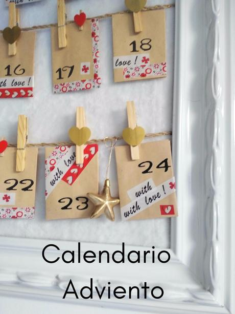 DIY- CALENDARIO DE ADVIENTO