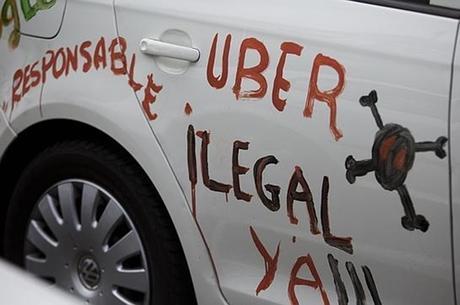 Uber es una consecuencia no la causa