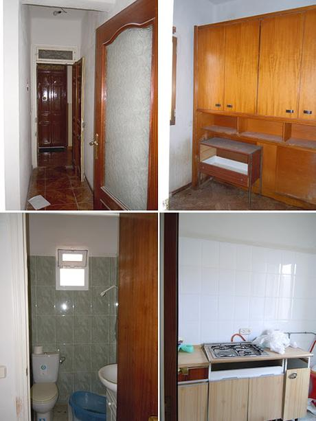 Antes y después: Apartamento de 30m2