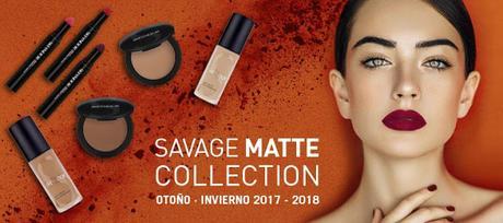 Savage Matte Collection, la Colección de Maquillaje Otoño-Invierno de Skeyndor